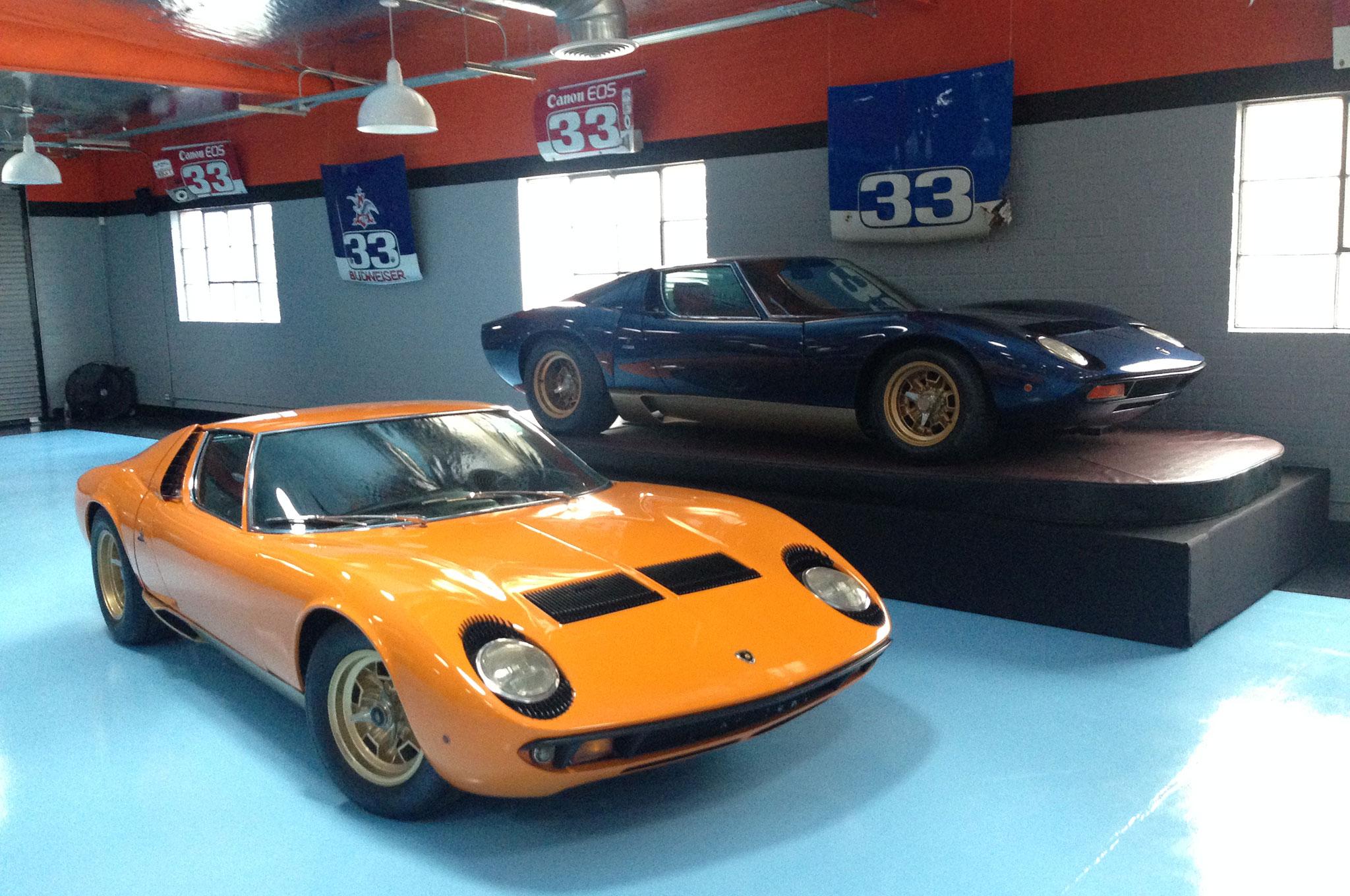 Lamborghini Miura Pair 1