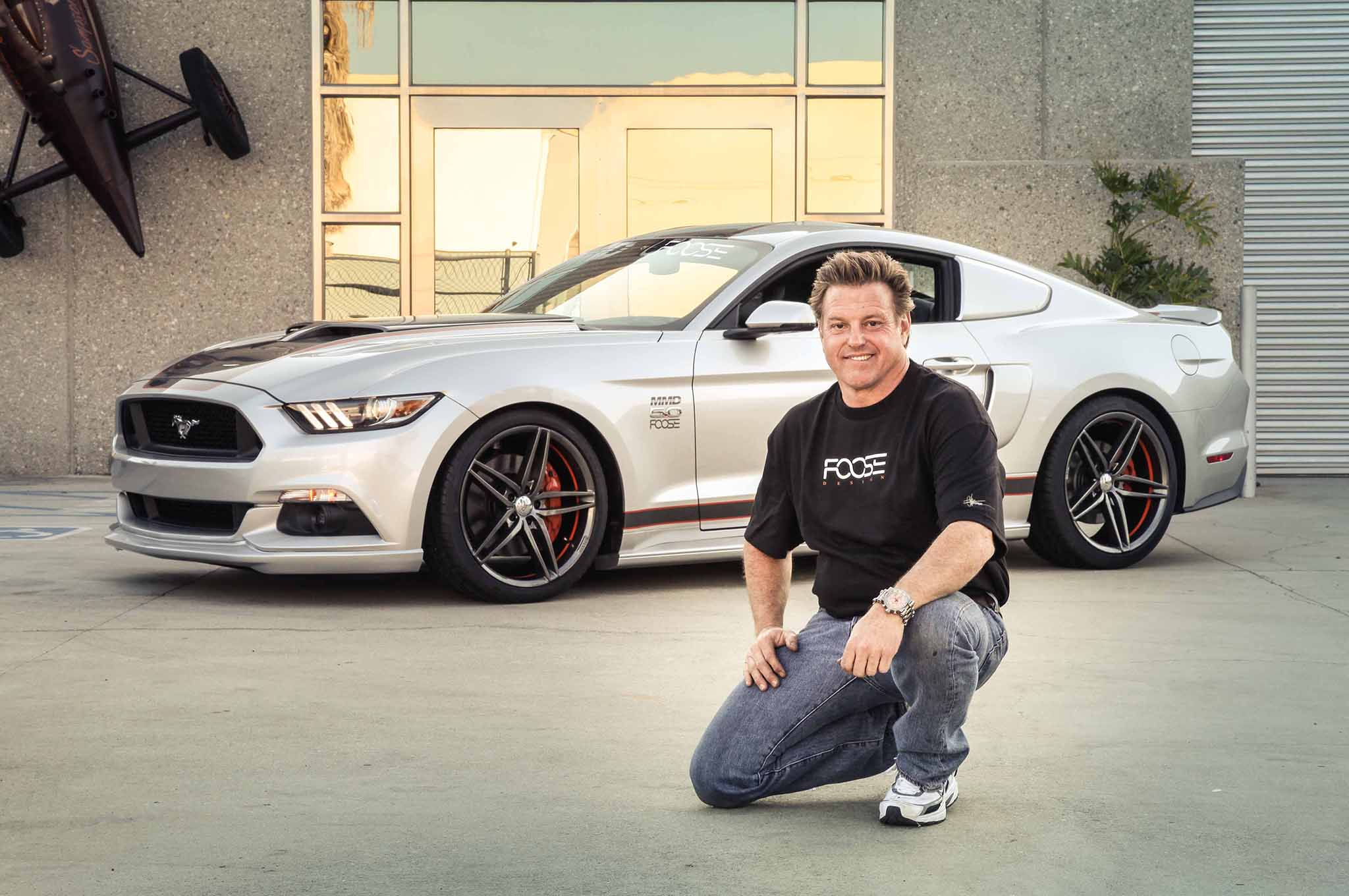One Off 2015 Ford Mustang Gt Designed By Chip Foose Boasts 810 Hp