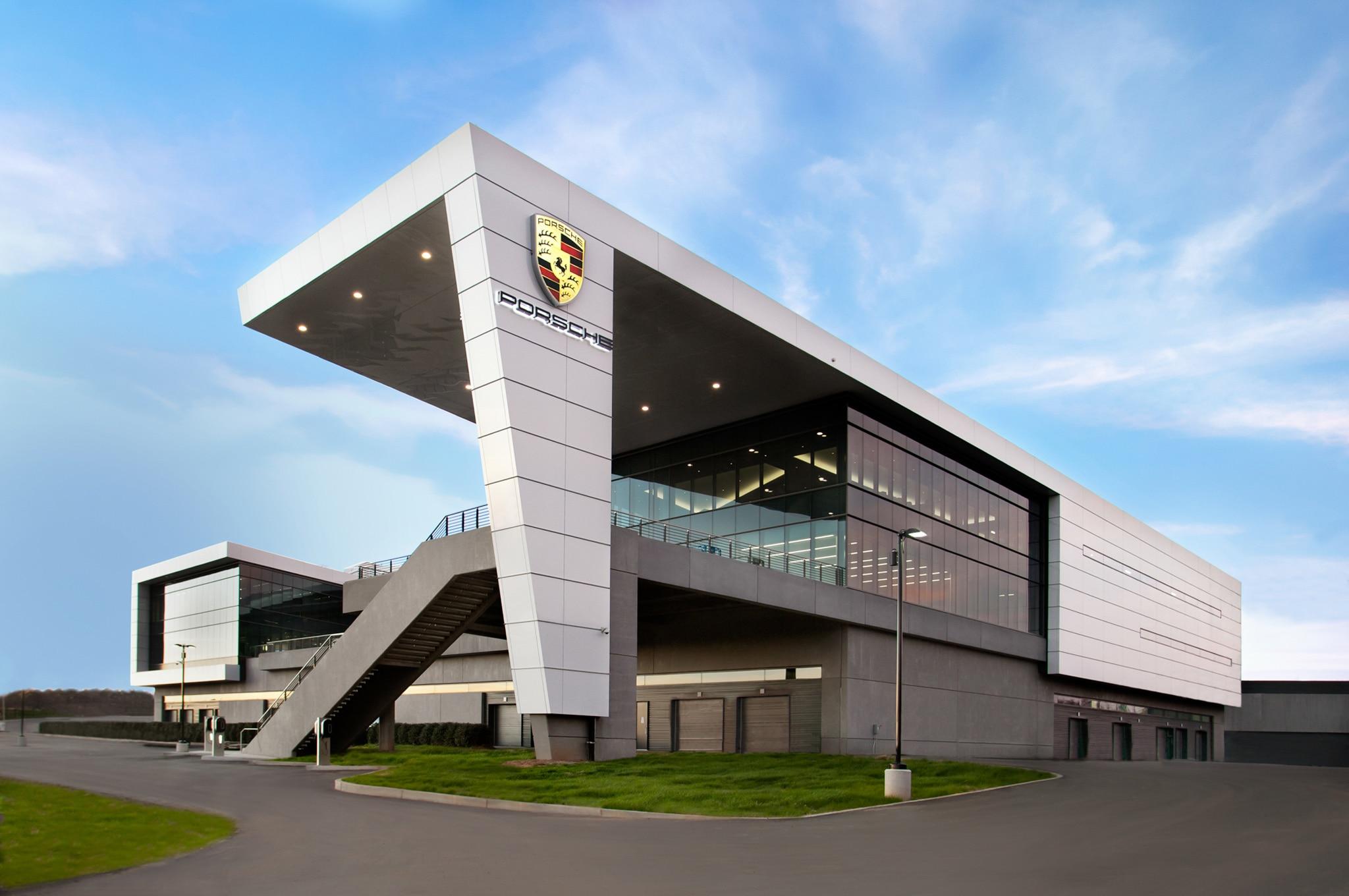 porsche opens new headquarters, test track in atlanta