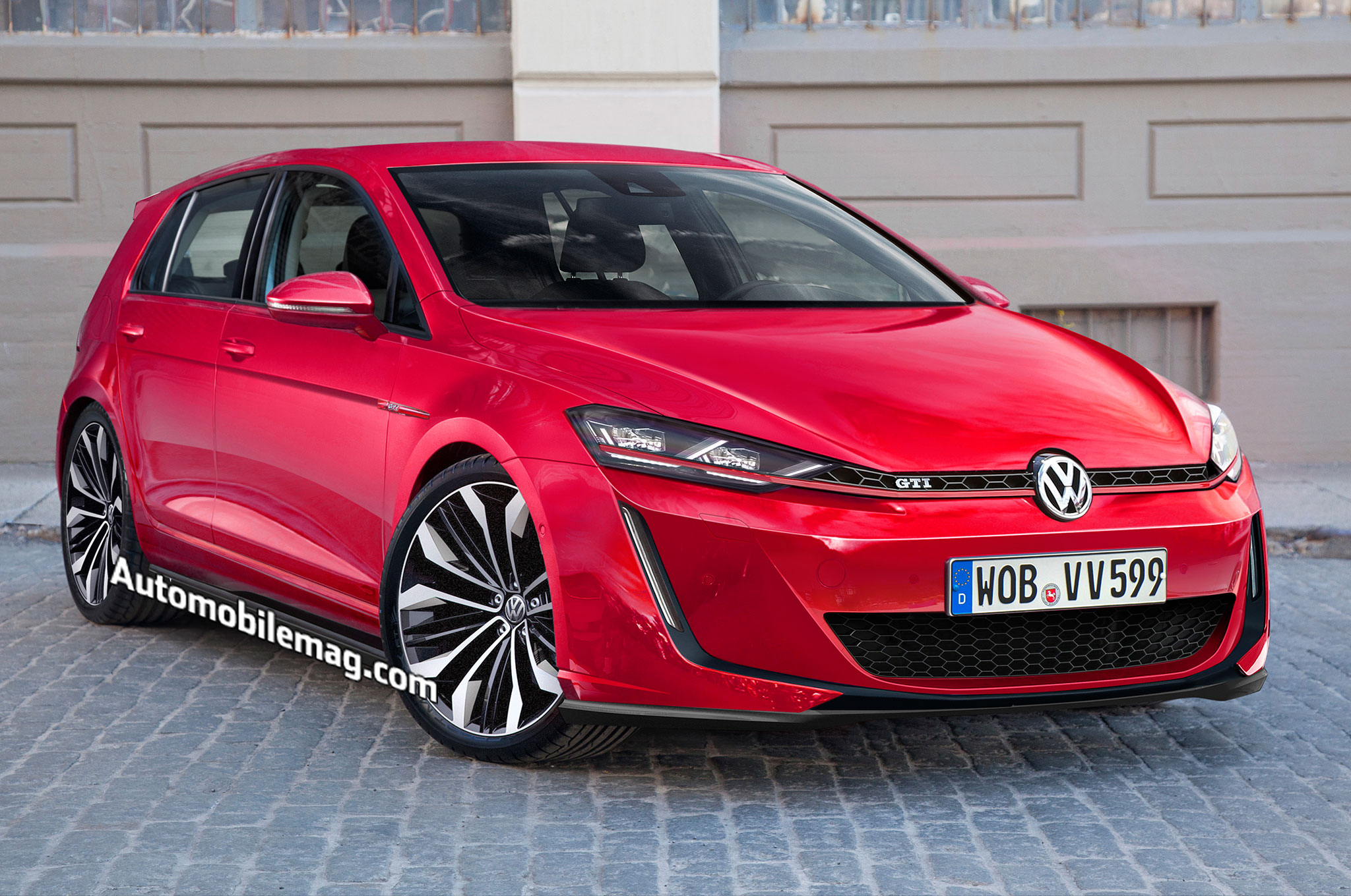 deep dive the next volkswagen golf gti will have 300 hp. Black Bedroom Furniture Sets. Home Design Ideas
