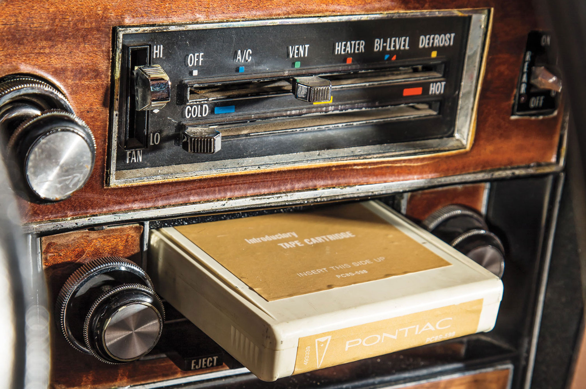 Rock that eight-track player.
