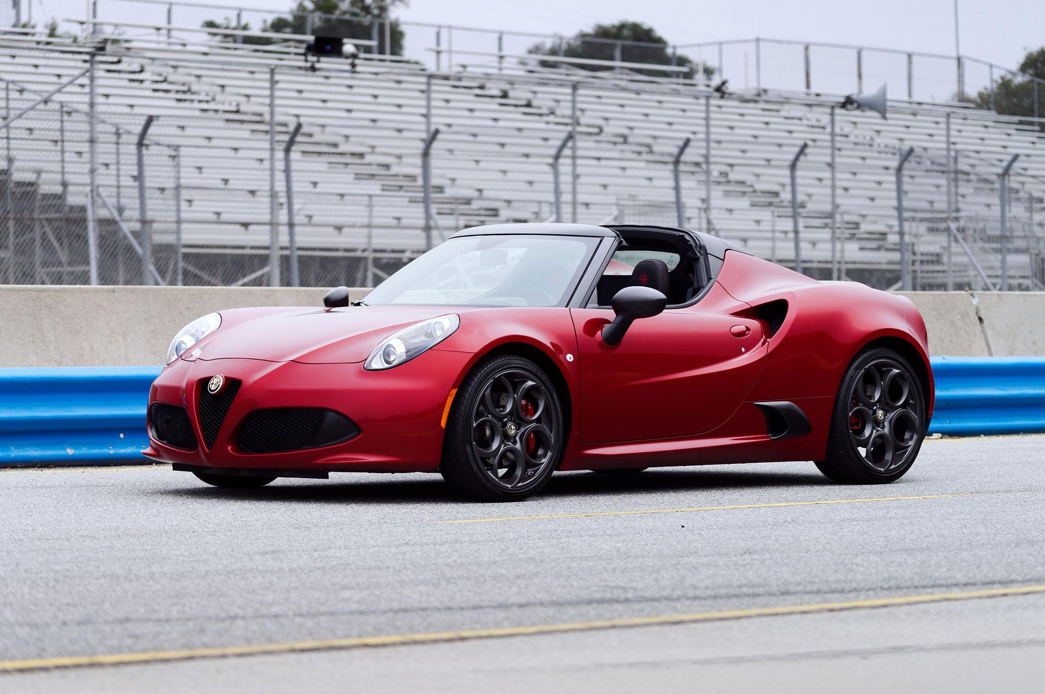 Image for Alfa Romeo 4 C Spider