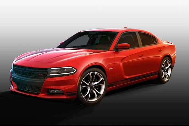2017 Dodge Charger Rt Mopar Performance Package Front Three Quarter