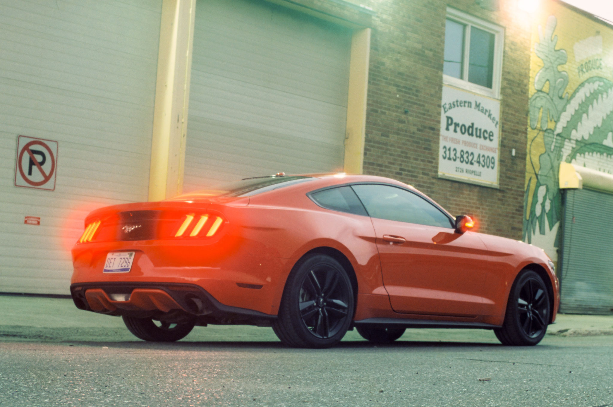 2015 Ford Mustang Ecoboost Premium Does It Sound Like A