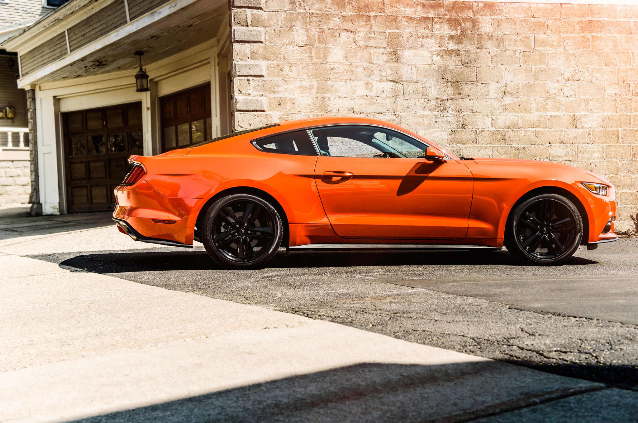Orange 2015 Mustang >> 2015 Ford Mustang Ecoboost Premium Four Seasons Wrap Up
