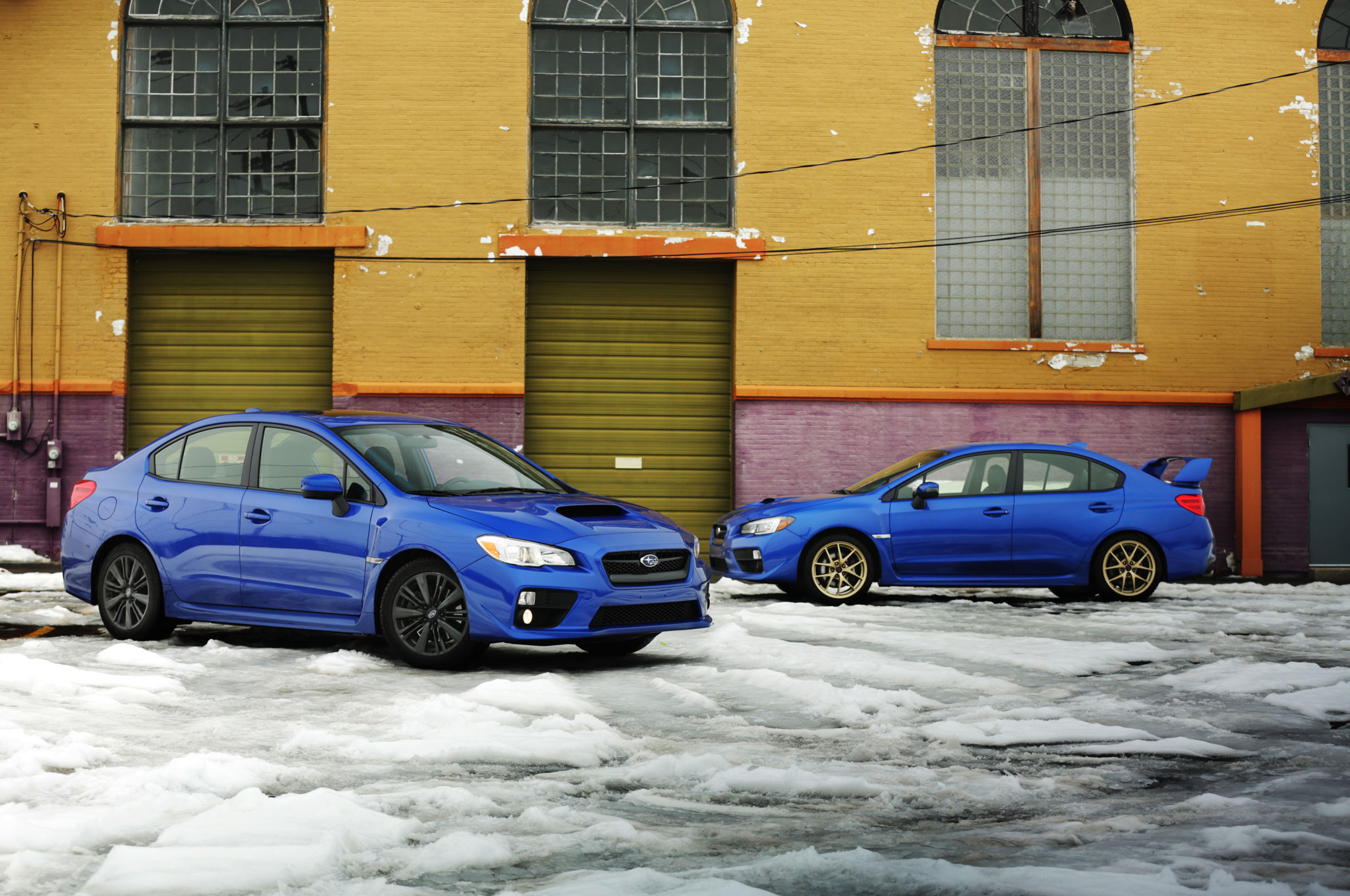 2015 Subaru Wrx Premium Is The Sti The Better Rex