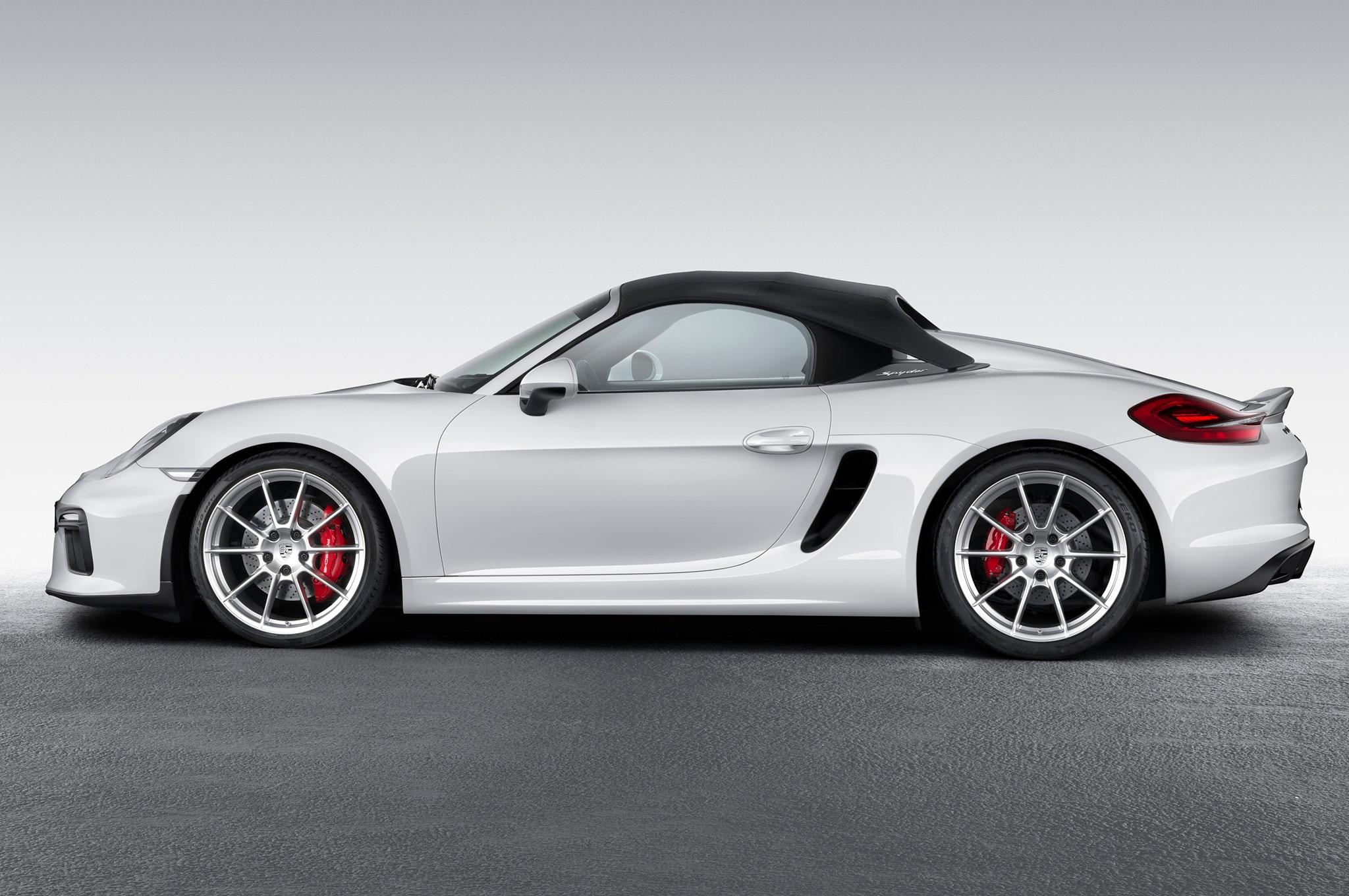 2016 Porsche Boxster Spyder Quick Drive Automobile Magazine