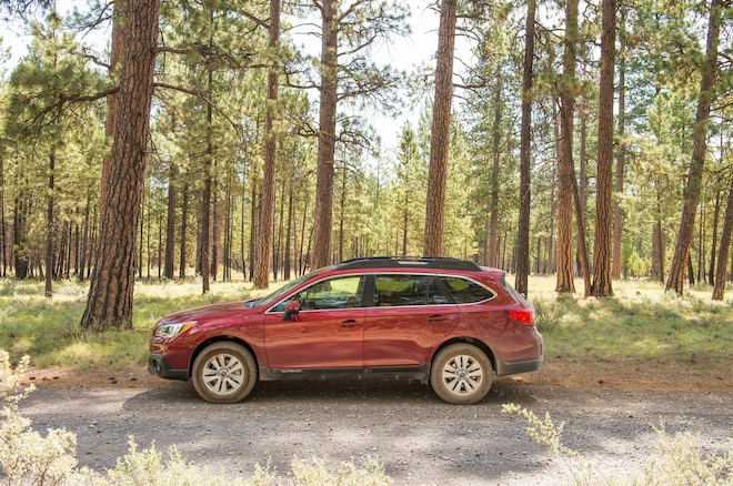 2016 Subaru Outback Side Profile