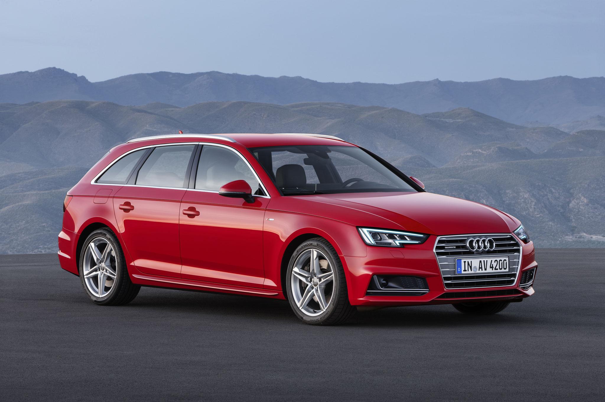 Audi a4 wagon 2017