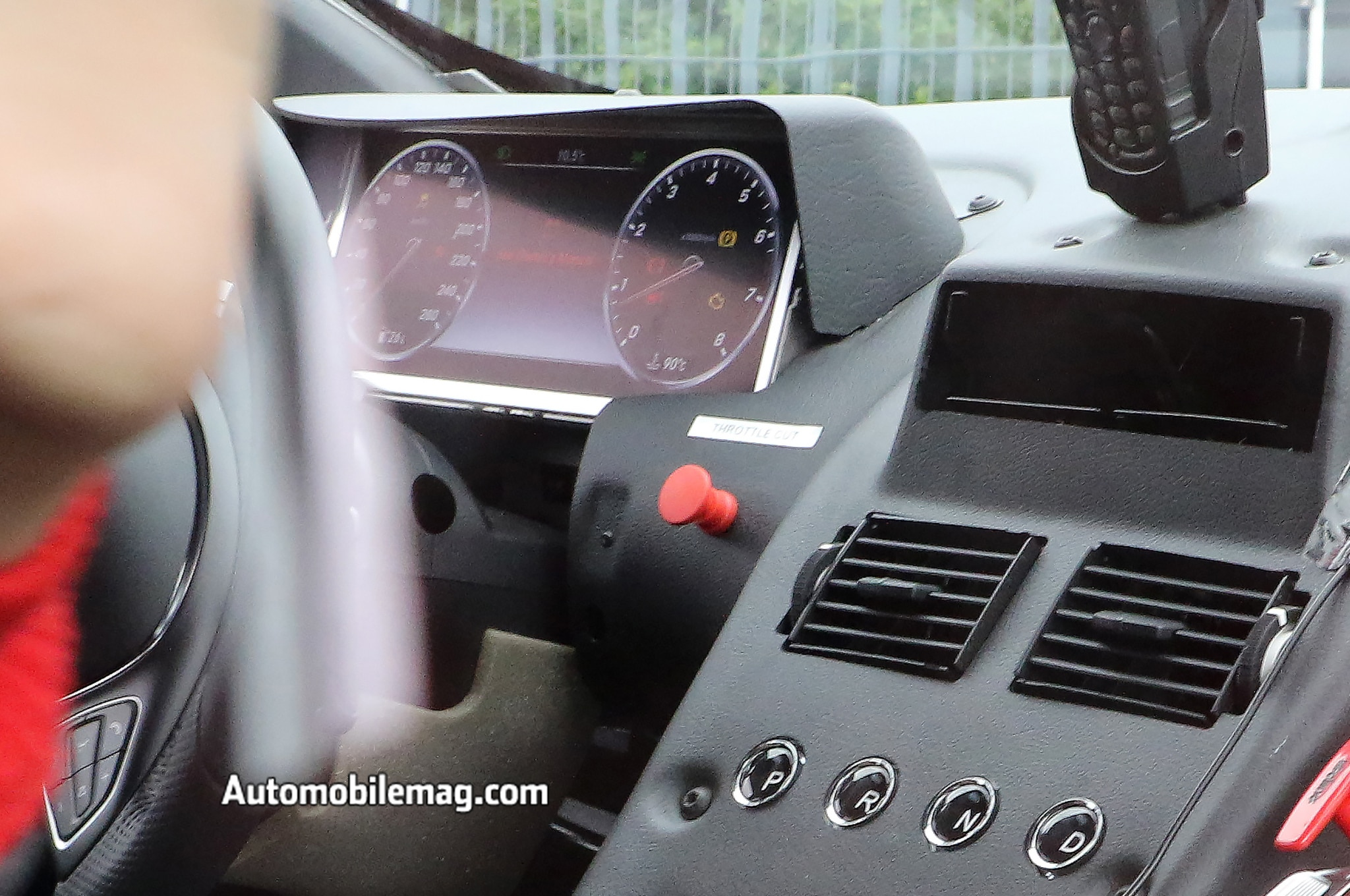 aston martin db11 spied with mercedes-benz interior components