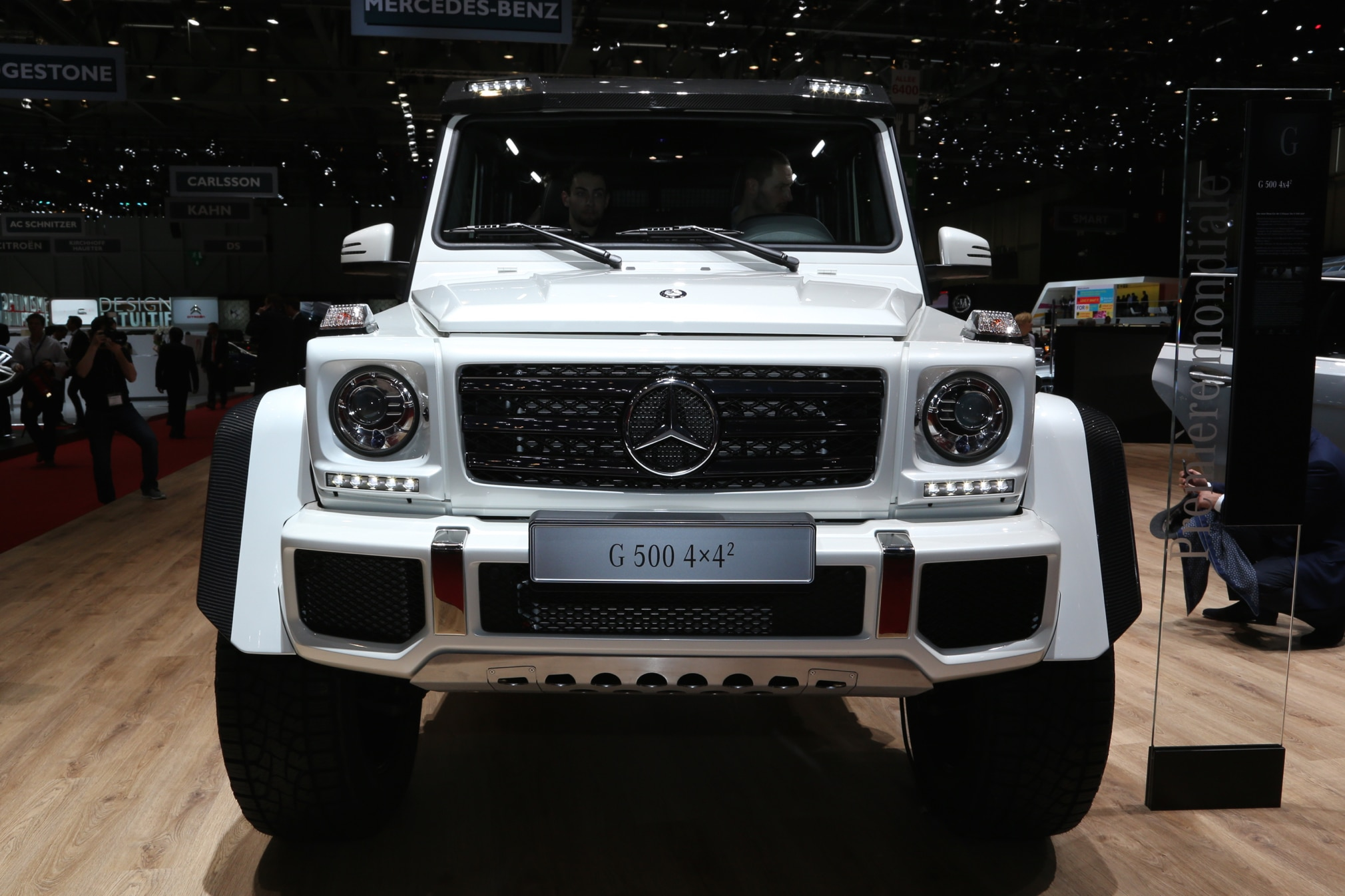 Mercedes Benz G500 4x4 Squared Enters Production Costs 256 000