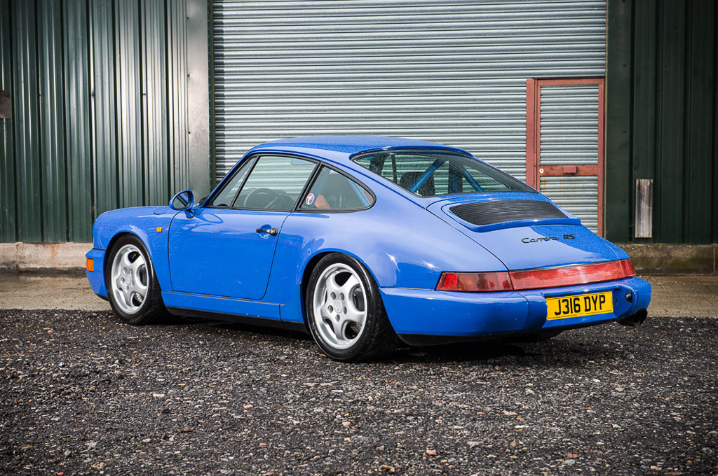 1975 Porsche 930 Owned by Steve McQueen, 1991 964 RS Up for