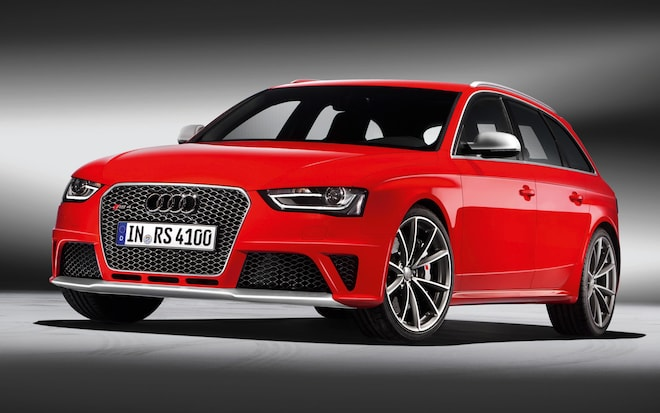 Report: Next Audi RS4 Avant, RS5 Coupe Will Use Electric