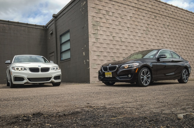 2014 Bmw M235i And 2015 Bmw 228i Front Three Quarters
