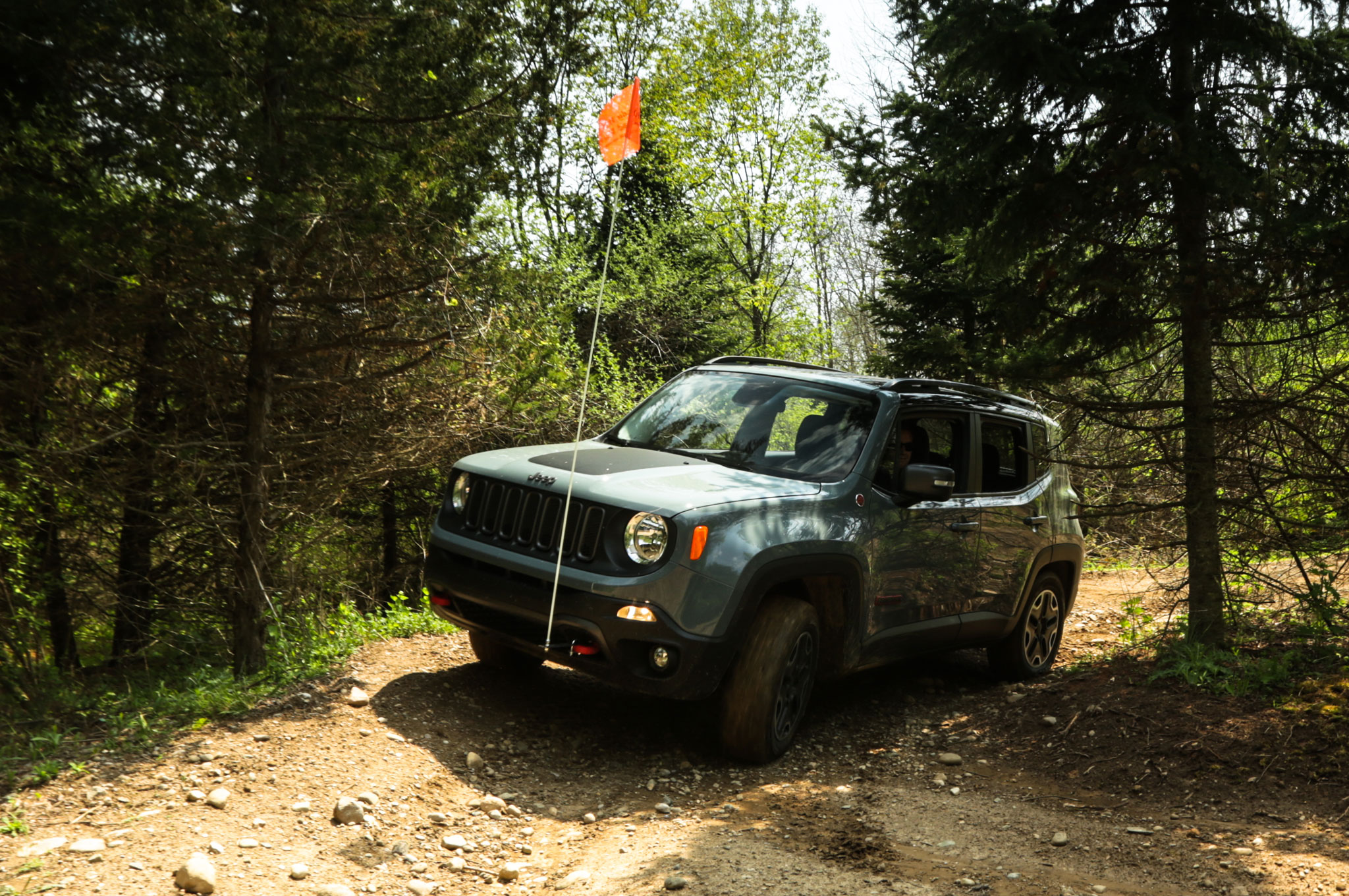 Jeep renegade trailhawk off road review