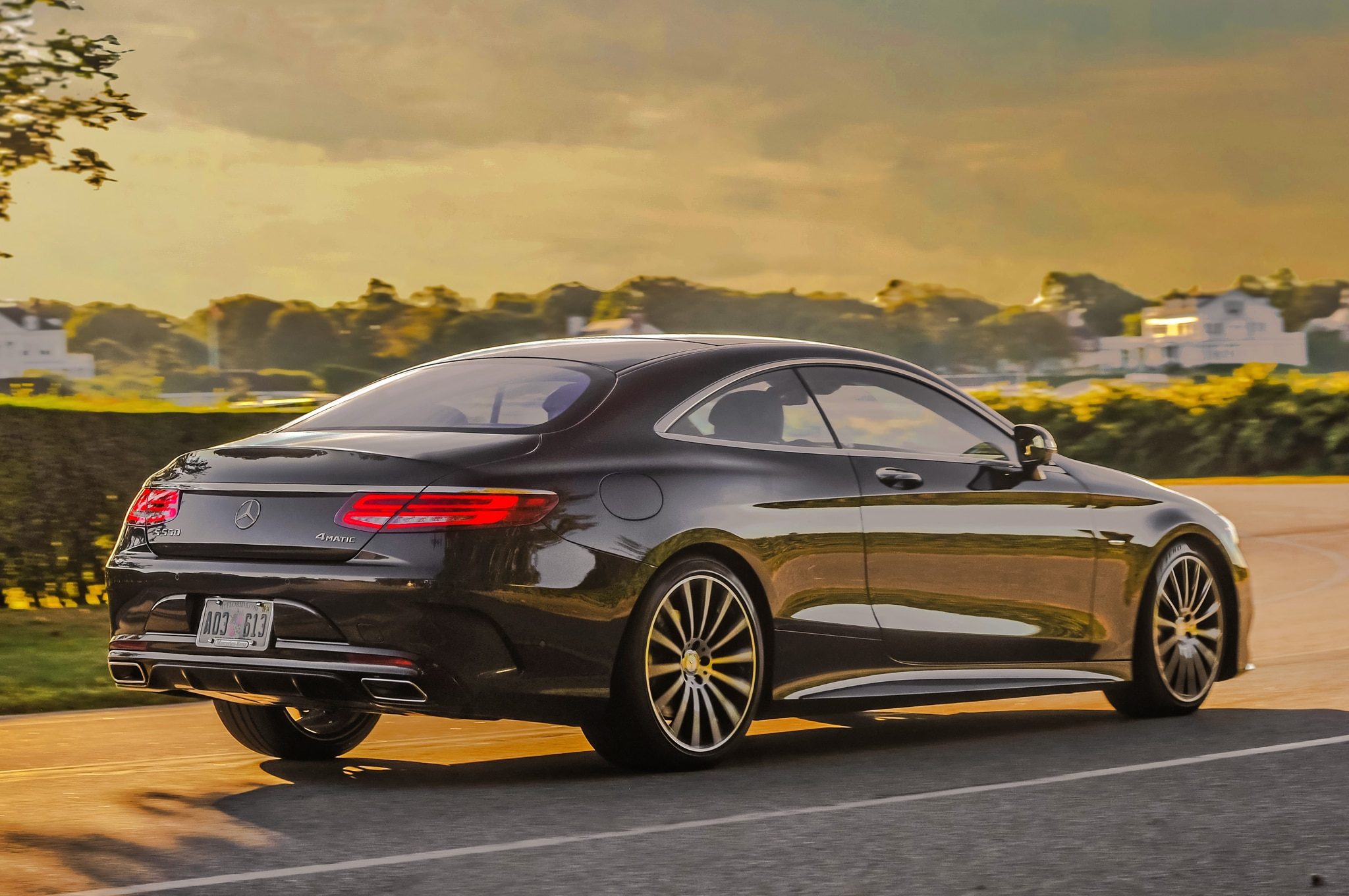 2015 Mercedes Benz S550 4matic Coupe Review