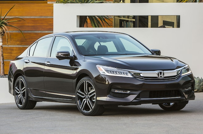 2016 Honda Accord Touring Front Side View