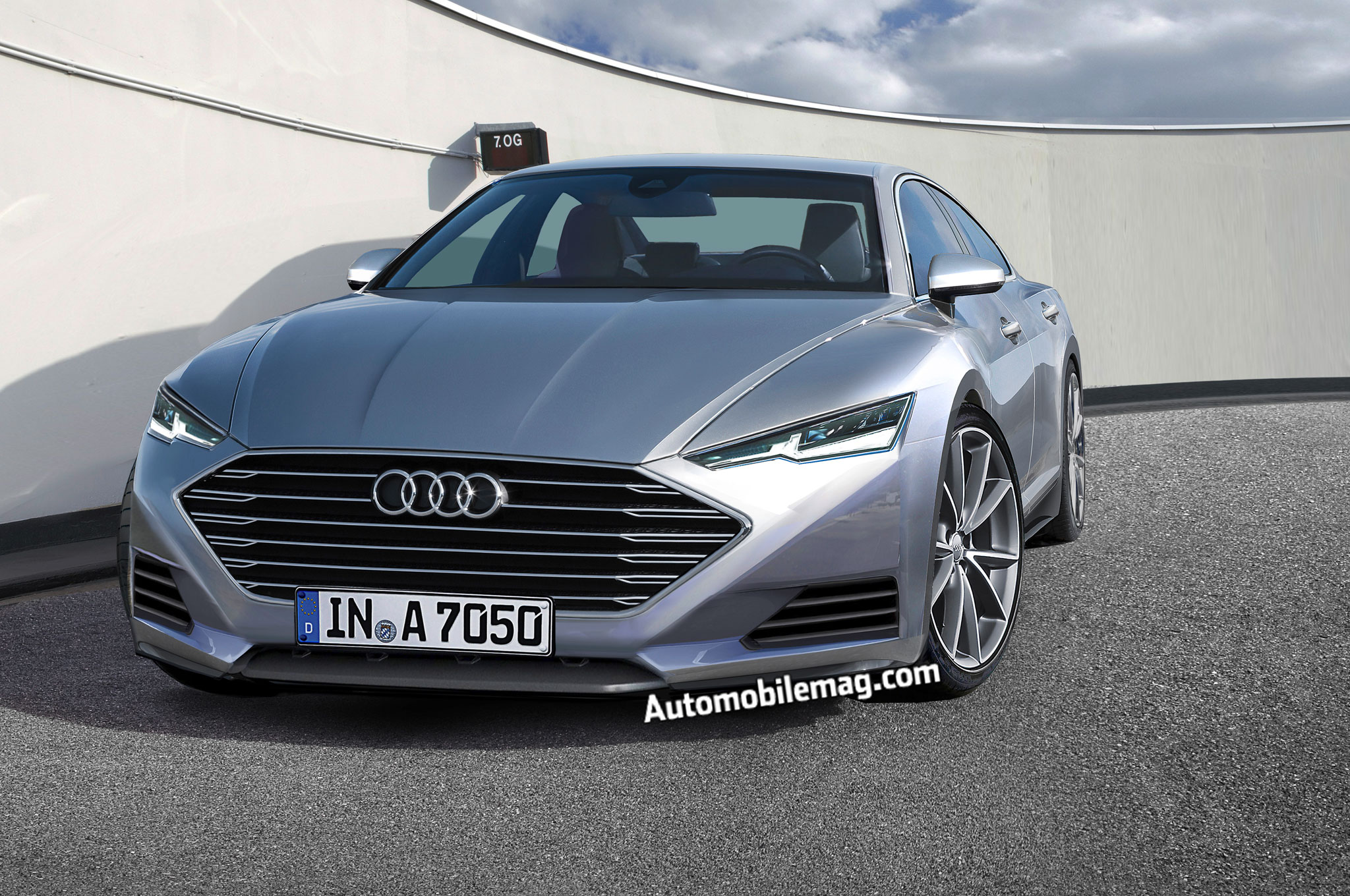 Deep Dive The Audi A Gets Squeezed Into A New Shape - 2 door audi a7