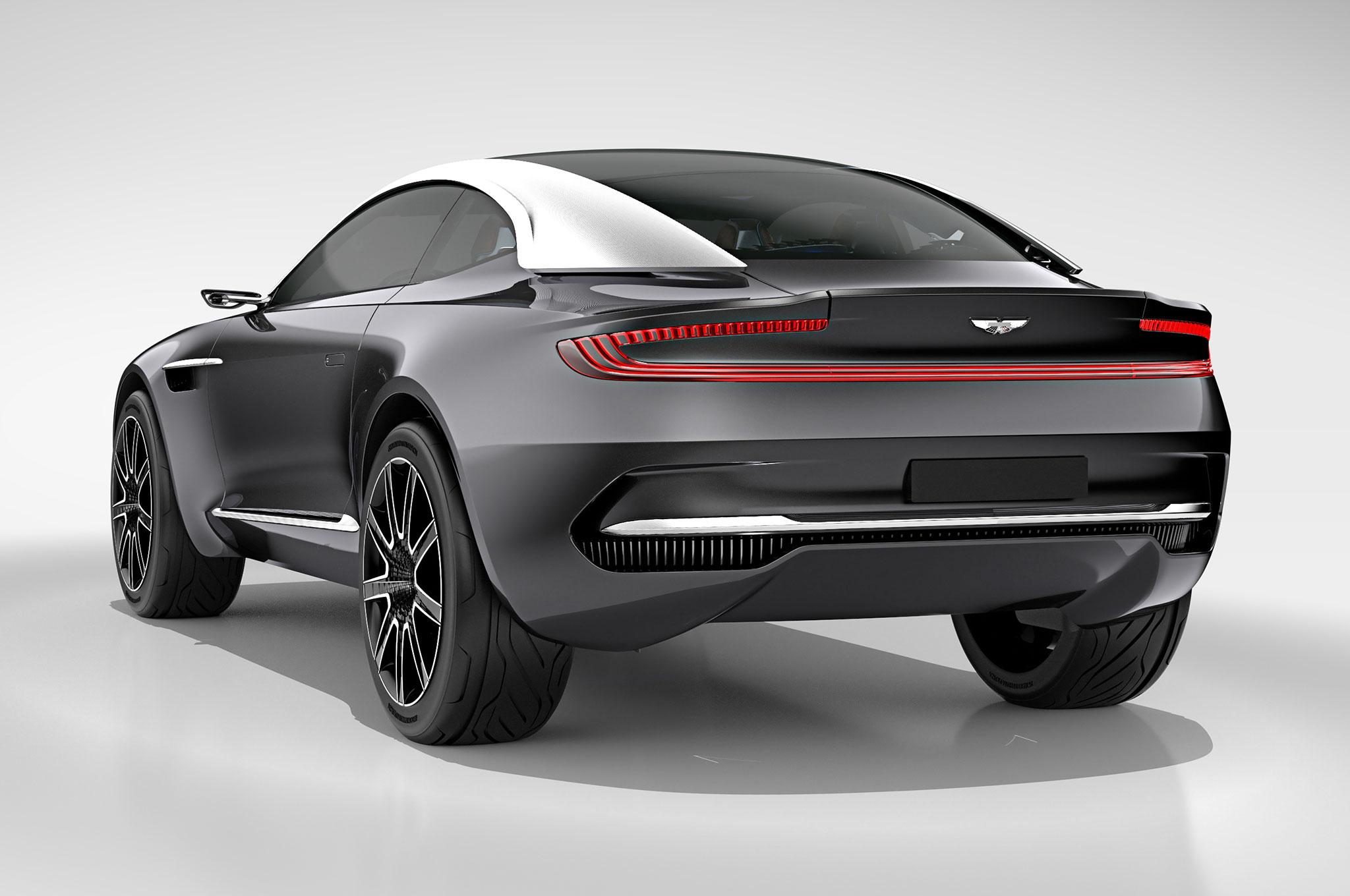 By Design: Aston Martin DBX Concept