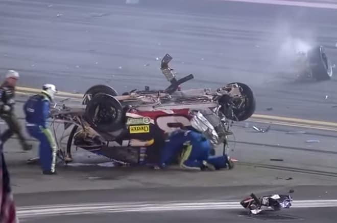 Austin Dillon Crash