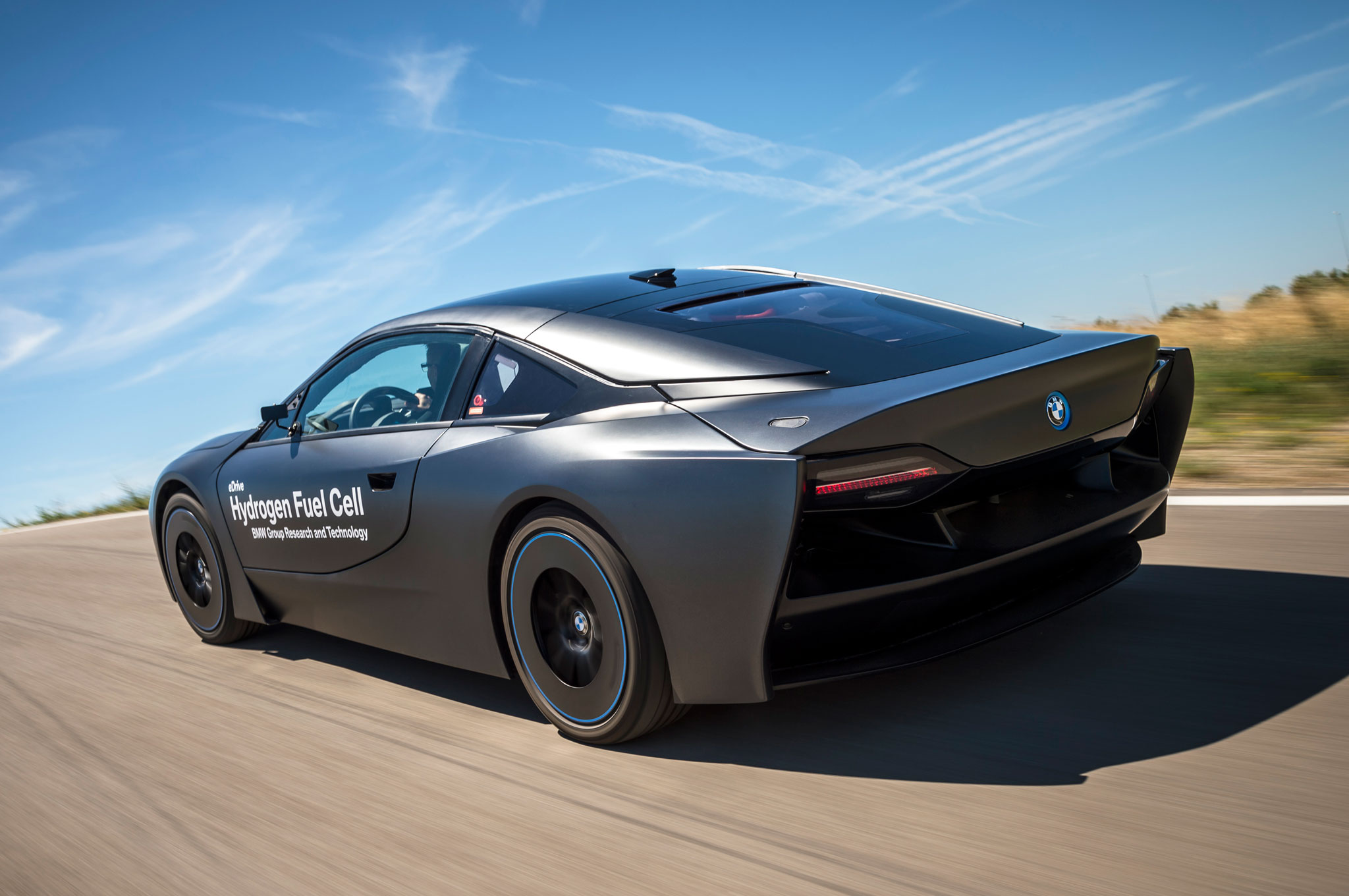 Bmw I8 5 Series Gt Hydrogen Fuel Cell Prototypes Revealed