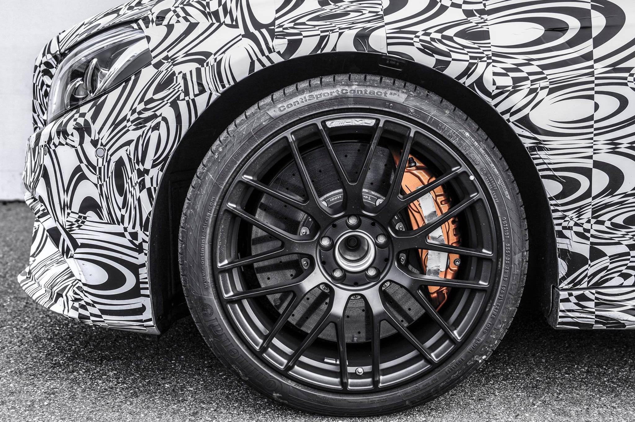 Mercedes AMG C63 Coupe Teaser Wheel Close1