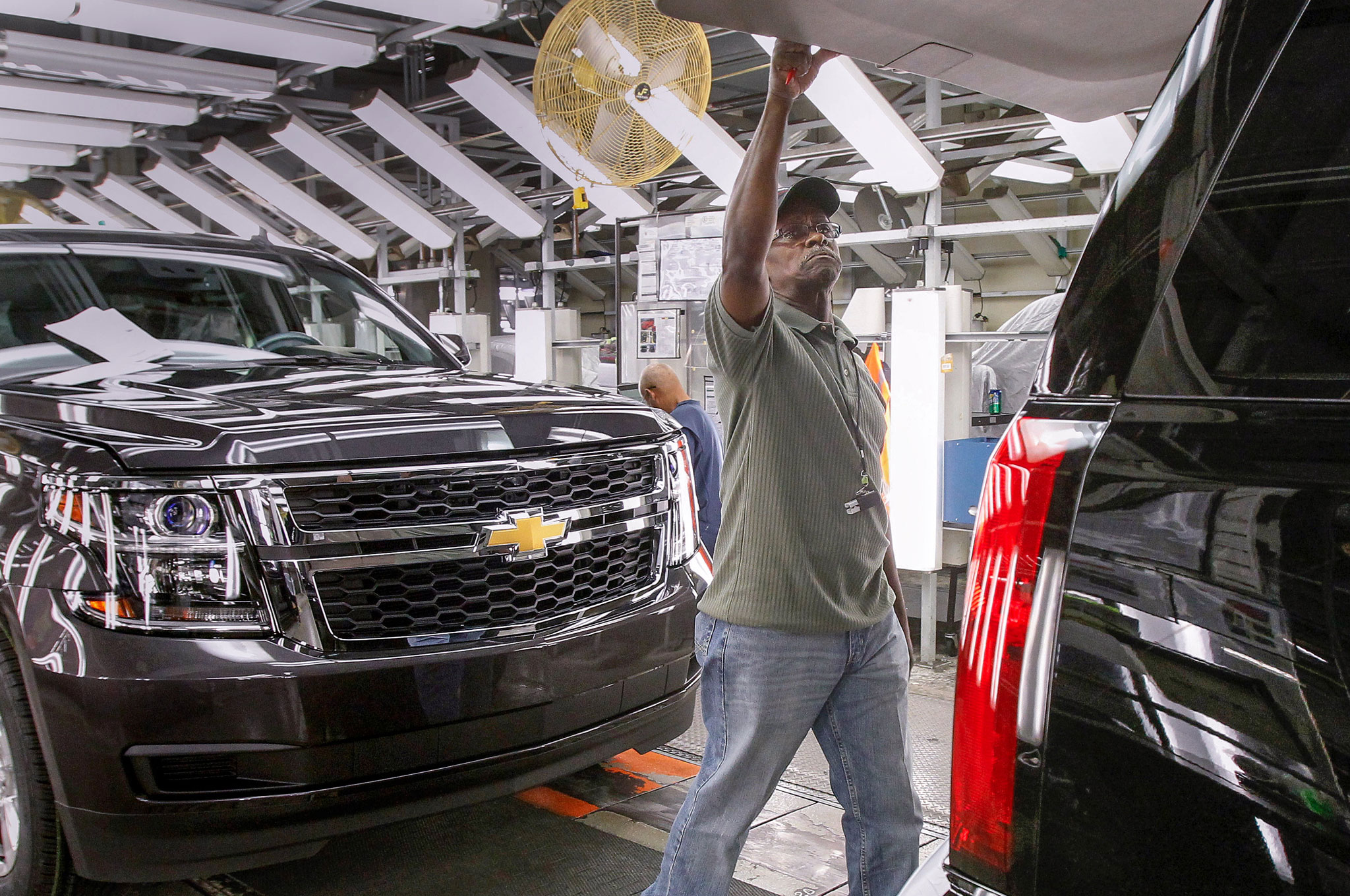 General Motors Arlington Assembly Line