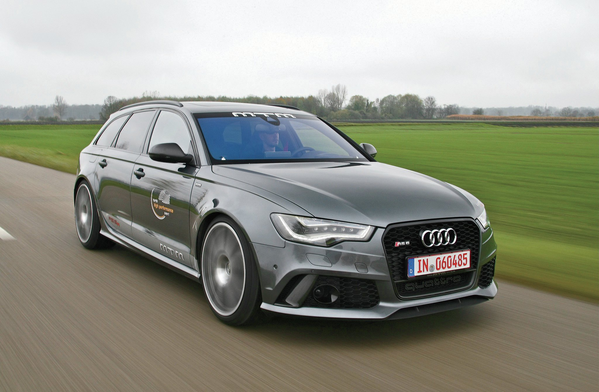 MTM Builds a 700-HP, 211-MPH Audi RS6 Wagon
