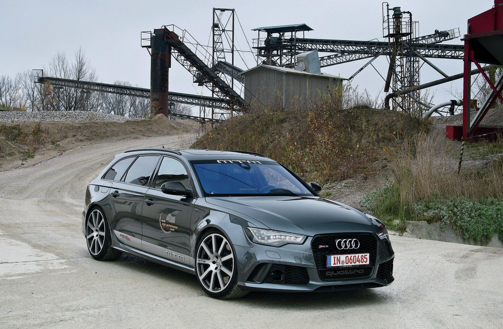 Mtm Builds A 700 Hp 211 Mph Audi Rs6 Wagon