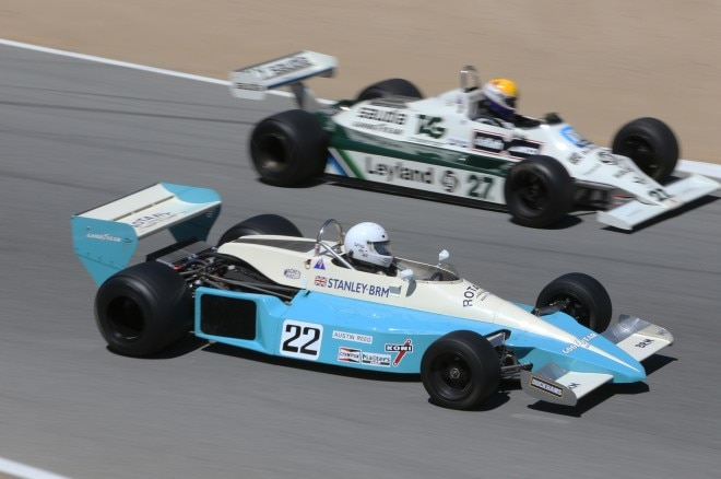 1976 BRM P207 and 1980 Williams FW07 B