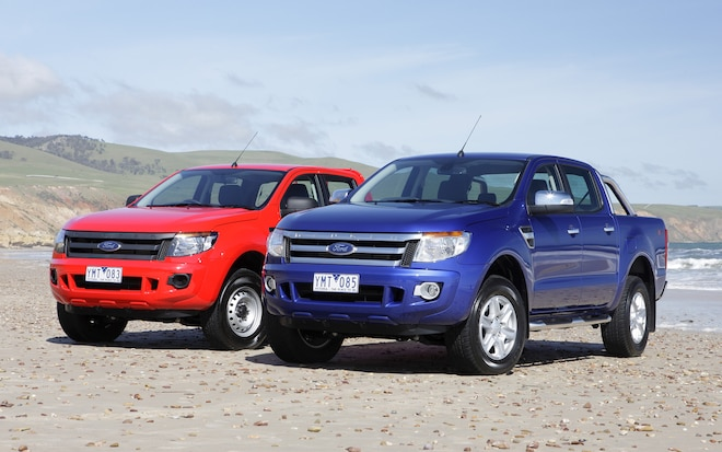 2012 Ford Ranger Front Views