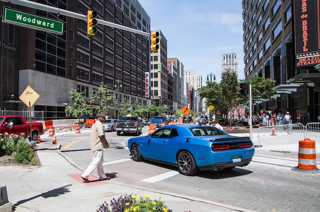 2015 Dodge Challenger Rear Three Quarter 2