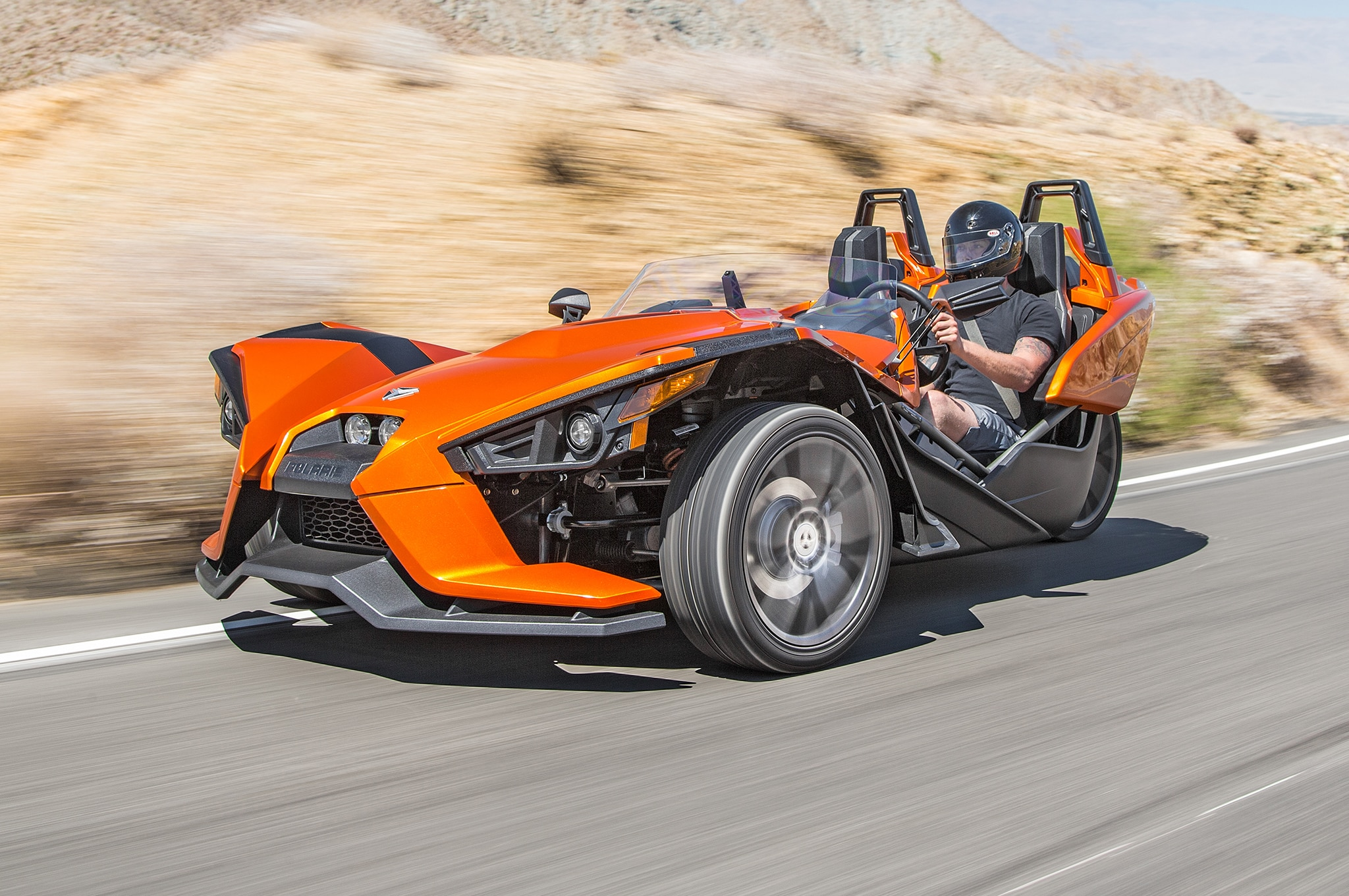 Polaris Sling Shot >> 2015 Polaris Slingshot Review