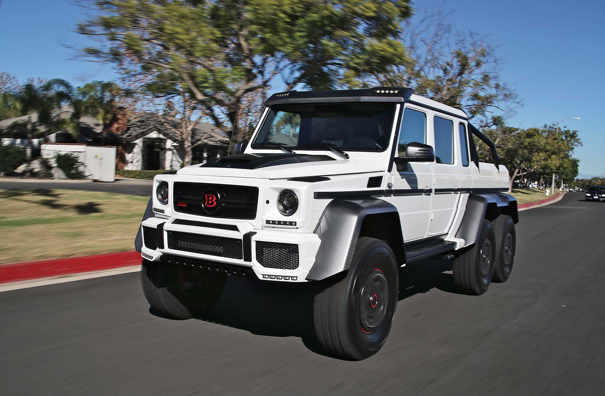 2015 Brabus G63 700 6x6 Driver Side Front View
