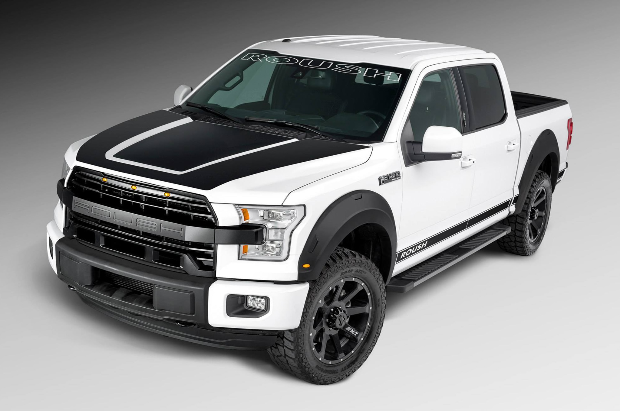 2015 Roush Ford F 150 Front Three Quarters