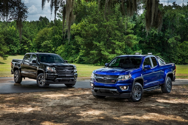 2016 Chevrolet Colorado Adds Midnight Edition Trail Boss Packages