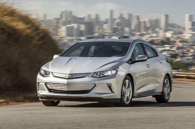 2016 Chevrolet Volt Front Three Quarter In Motion