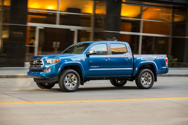 2016 Toyota Tacoma Limited Front Three Quarter In Motion