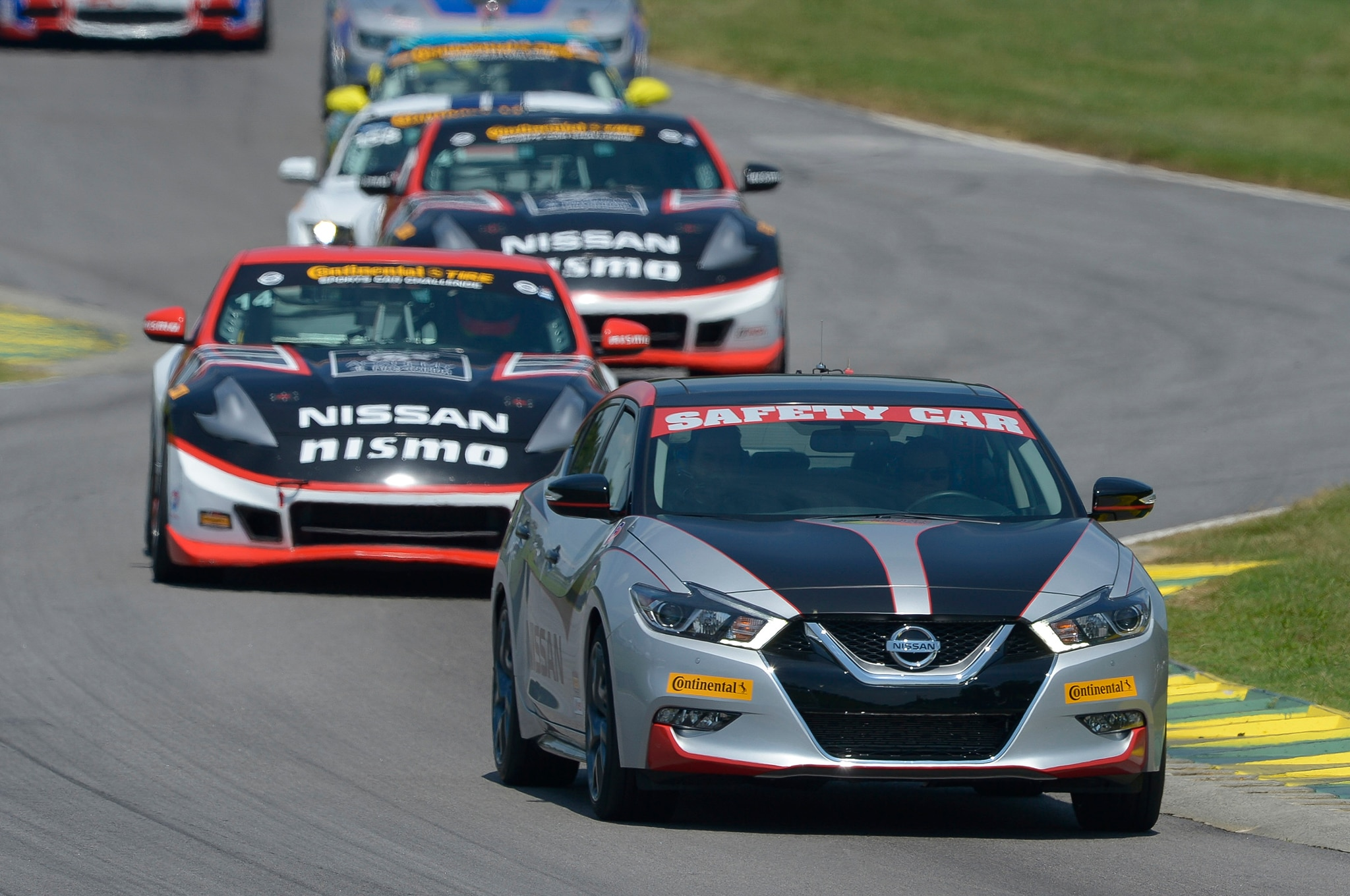 2016 Maxima Nismo >> 2016 Nissan Maxima Serves As Safety Car At Vir Cota