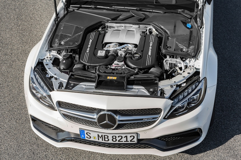 2017 Mercedes-AMG C63 Coupe Brings Twin-Turbo Punch with Up