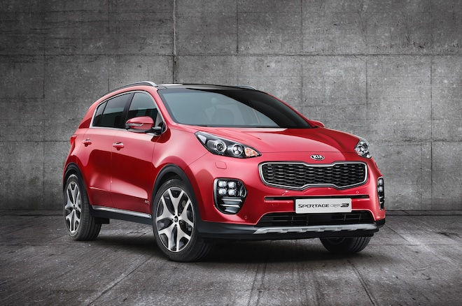 2017 Kia Sportage Front Three Quarters