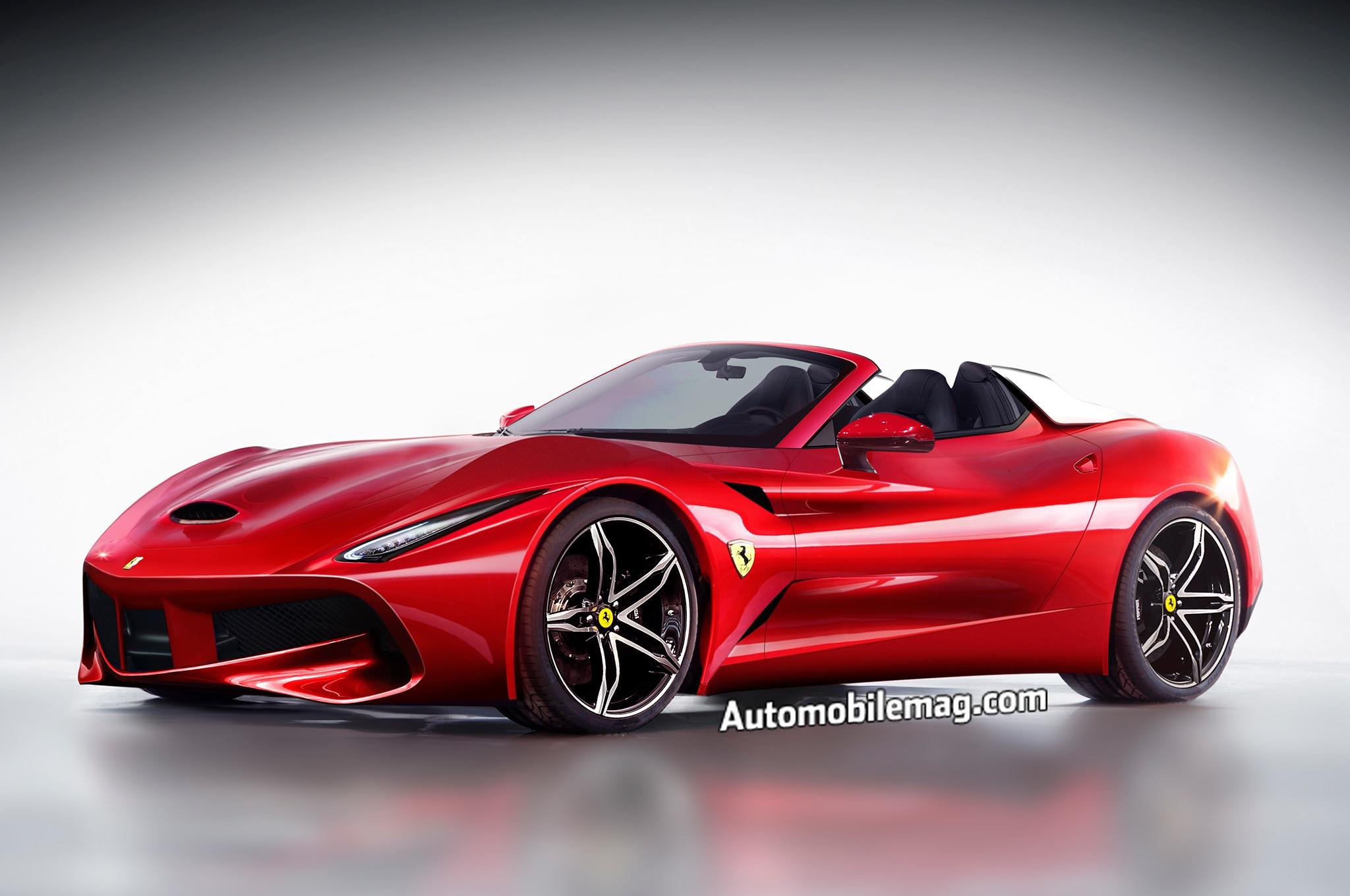 Ferrari California Rendering Front Three Quarter