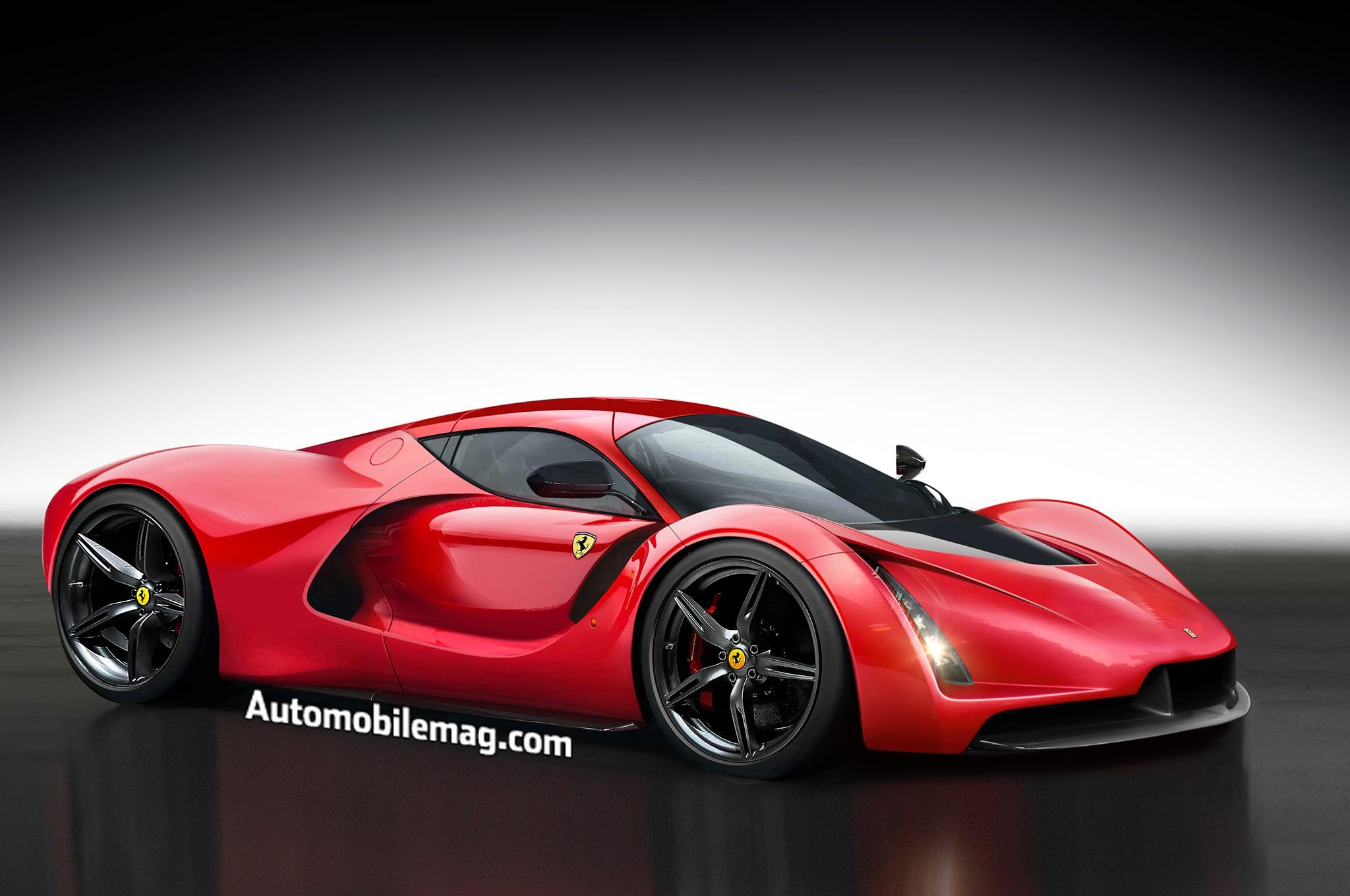 Ferrari LaFerrarina rendering