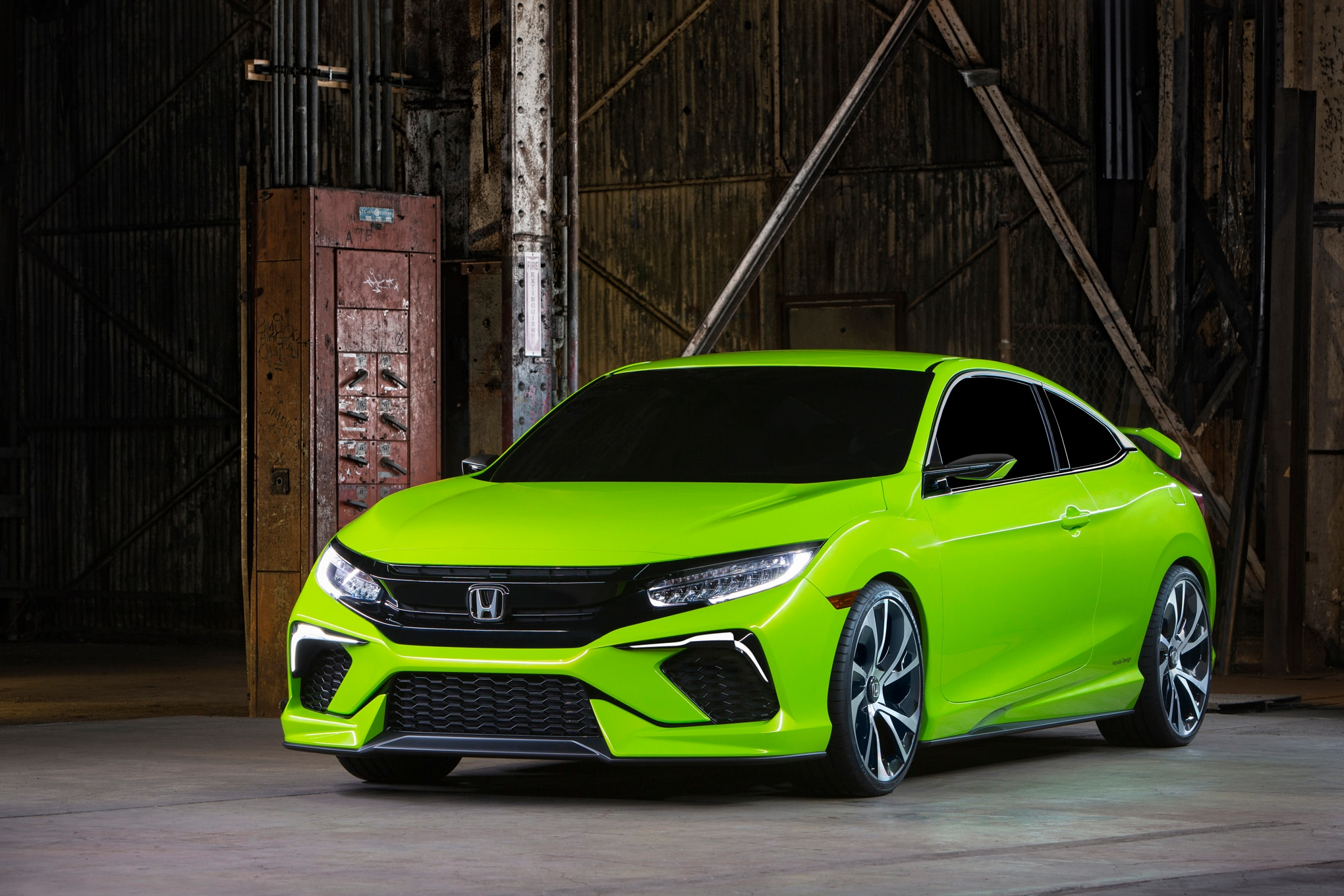 Honda Wants Enthusiasts To Get Excited About The Civic Again. To That End,  The Civic Type R Comes To The U.S. At Last And Will Make More Than 300 Hp  From A ...