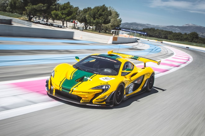 McLaren P1 GTR Front Three Quarter In Motion 15