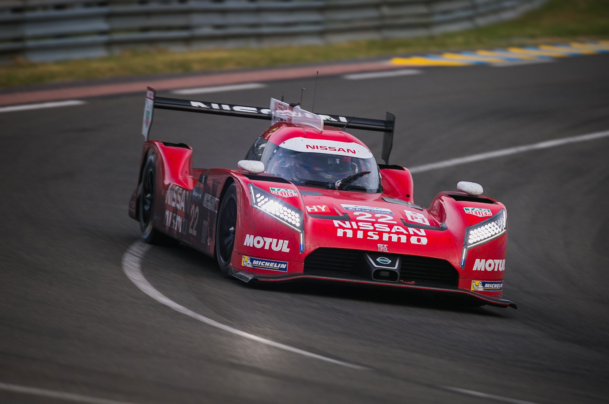 Nissan GT R LM NISMO At Le Mans 07