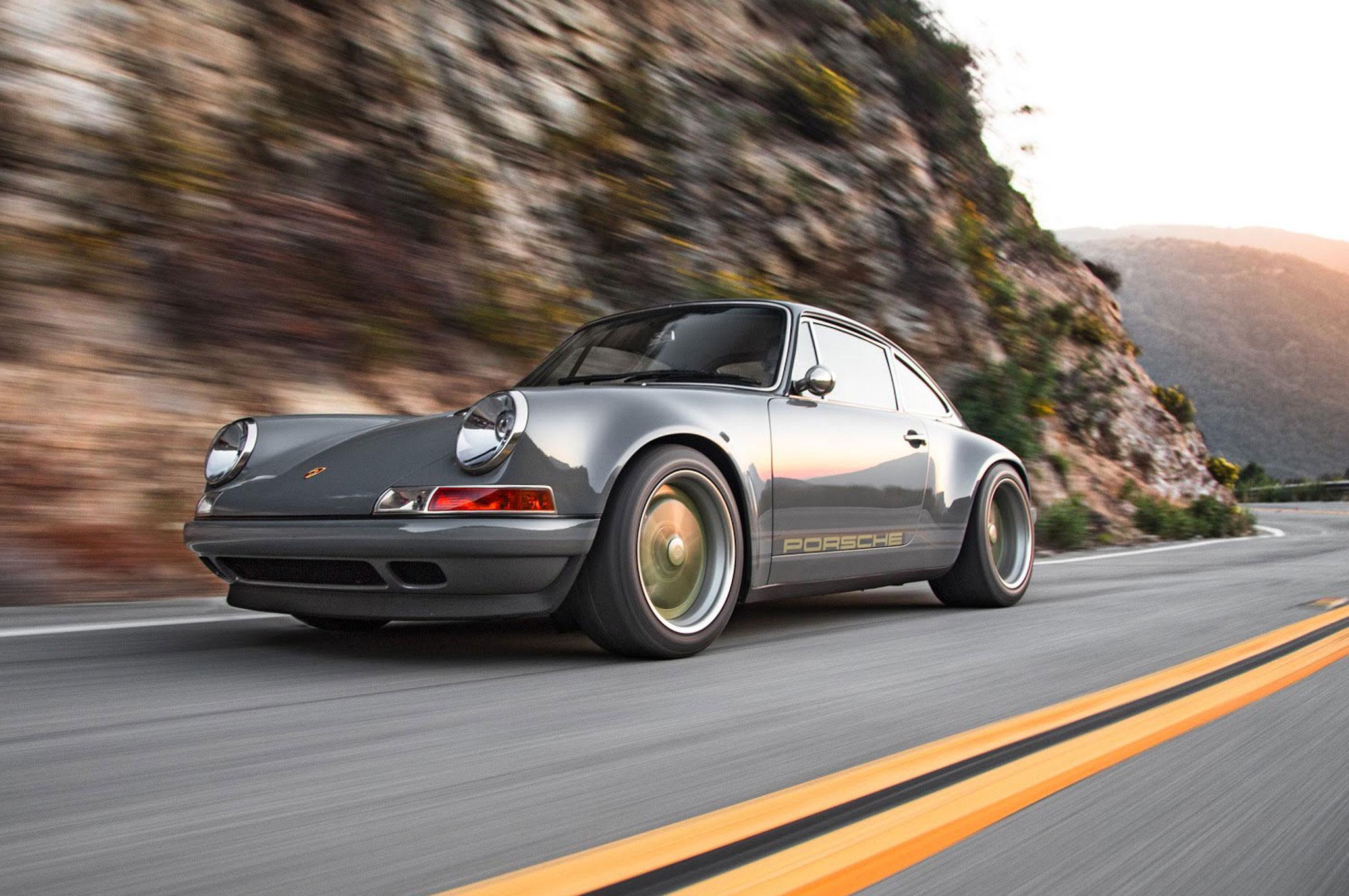 Driving The 1990 Porsche 911 Reimagined By Singer Vehicle Design Headlight Wiring Diagram 1968 1 83