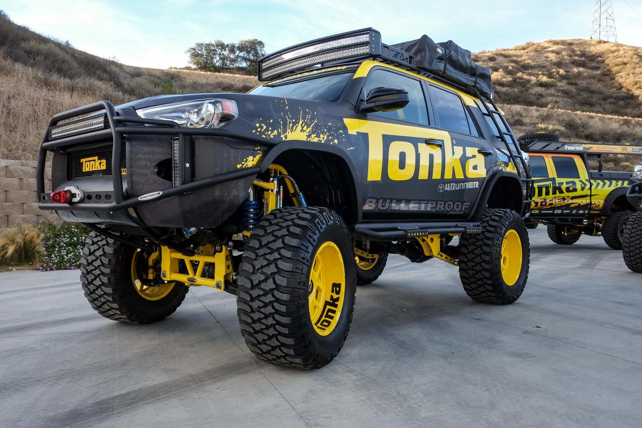 Tonka Toyota 4Runner Front Three Quarters 031