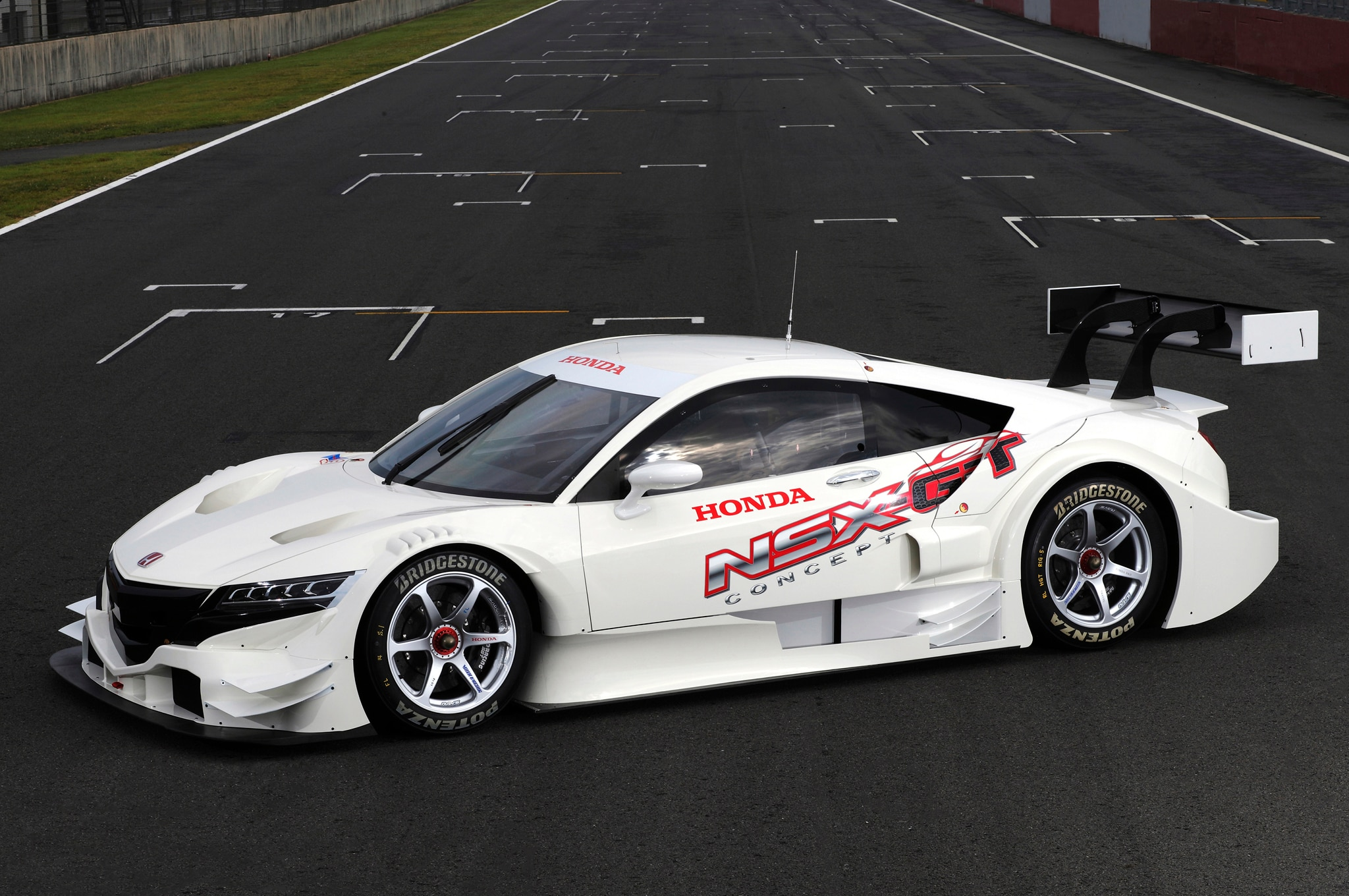 Acura Nsx Gt Racer Front Three Quarters