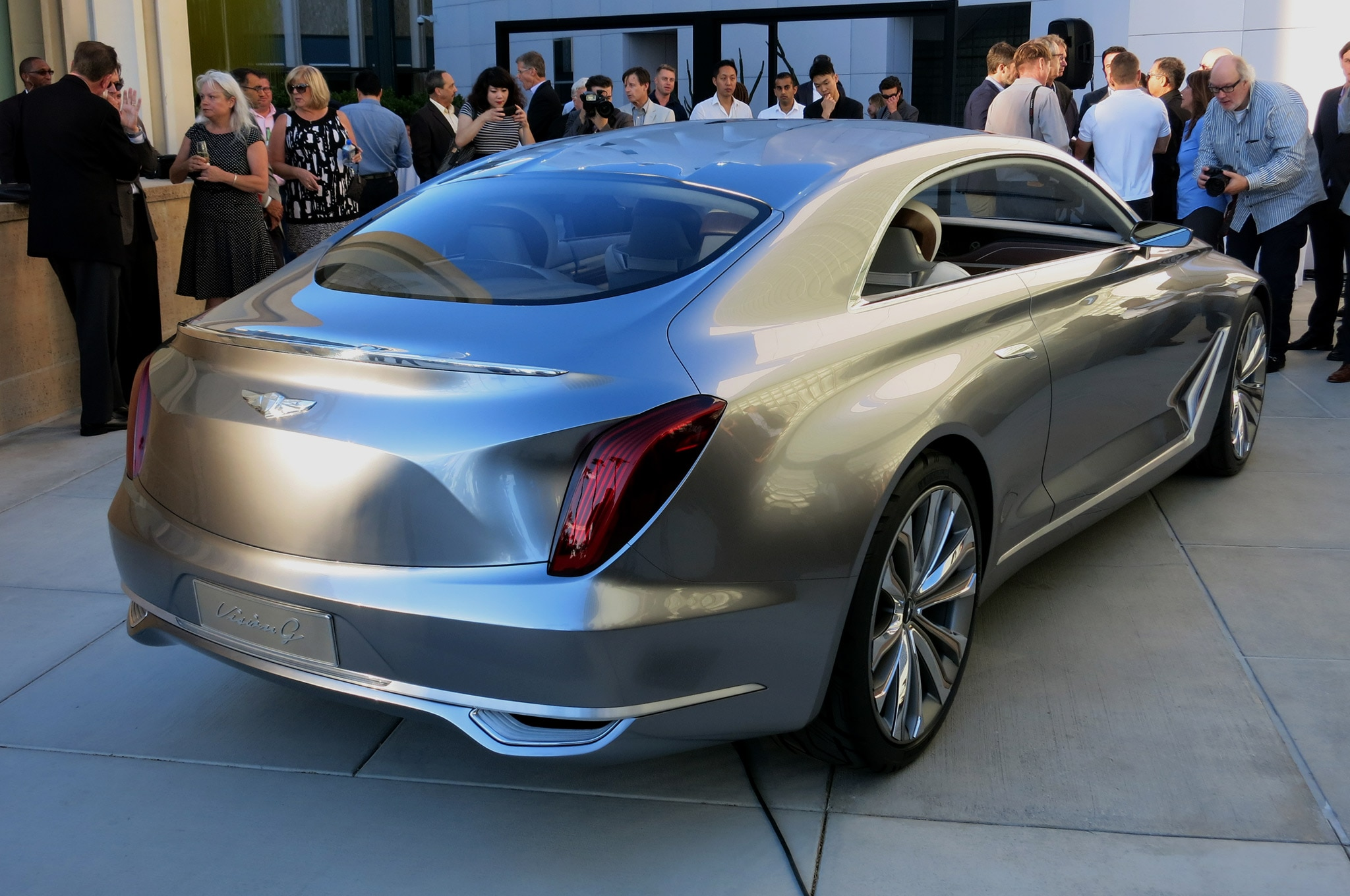 Hyundai Vision G Coupe Concept Previews a Genesis Coupe